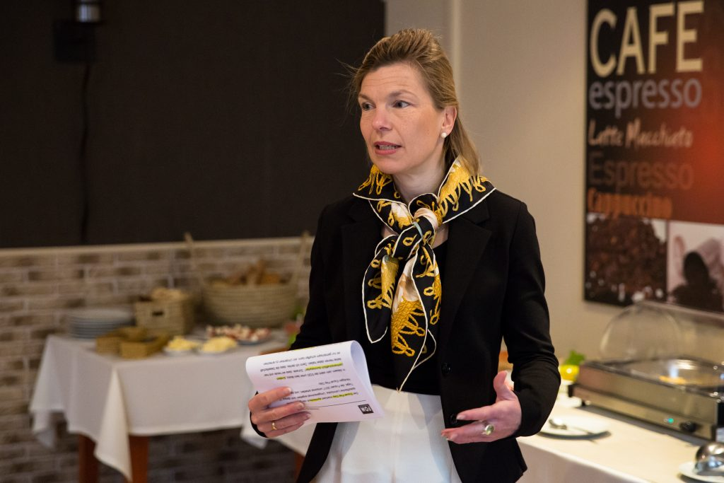 Prof. Dr. Anja Seng zu Gast beim BPW Business and Professional Women Club Essen (Foto: Sina Falker)